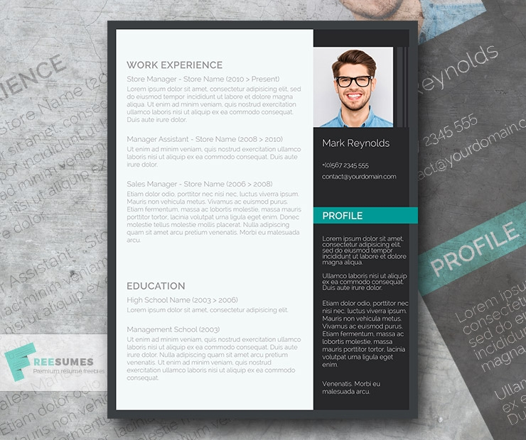 the modern professional a free ultra creative cv
