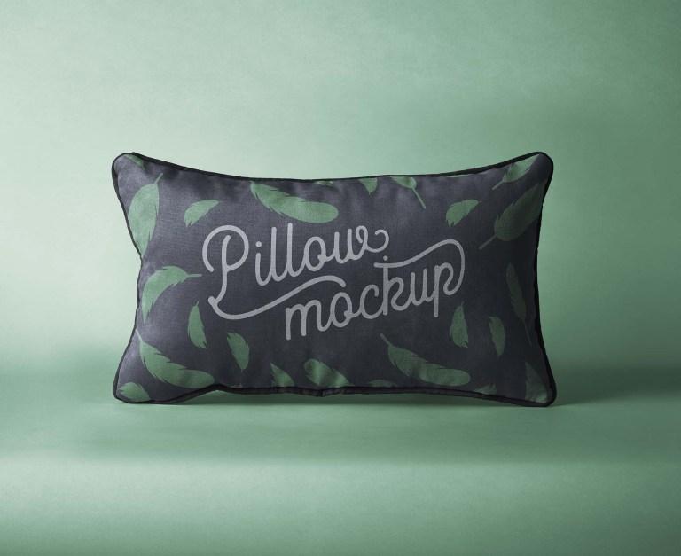 Fresh pillow mockup