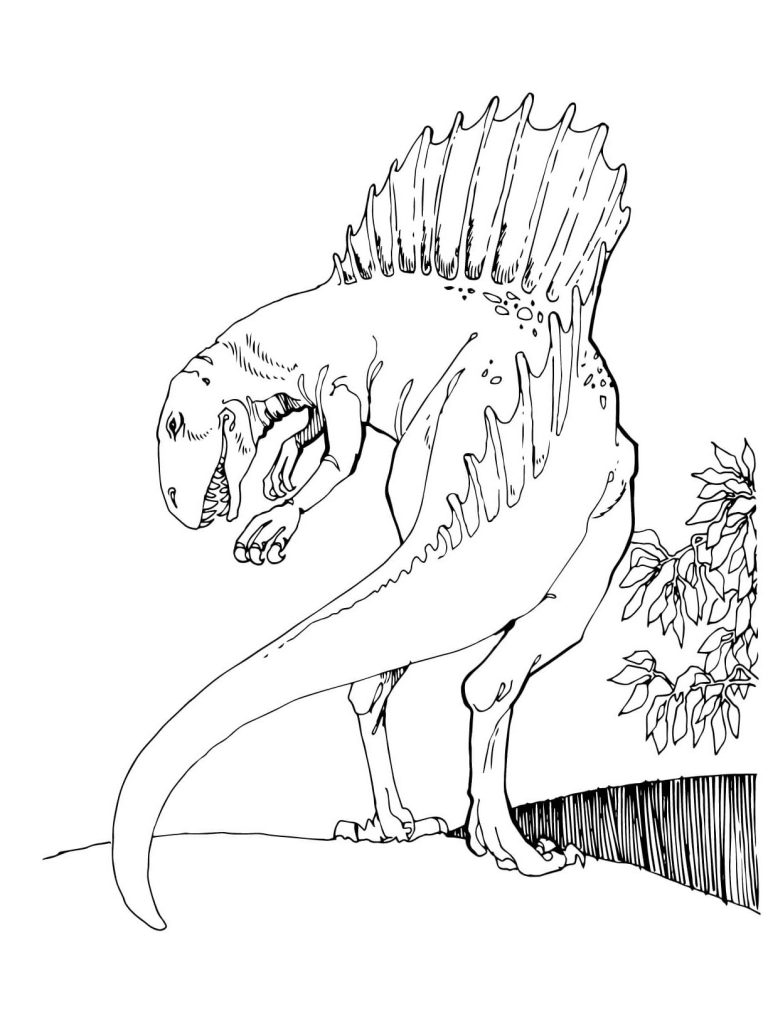 Free jurassic world coloring pages Printable Sheet