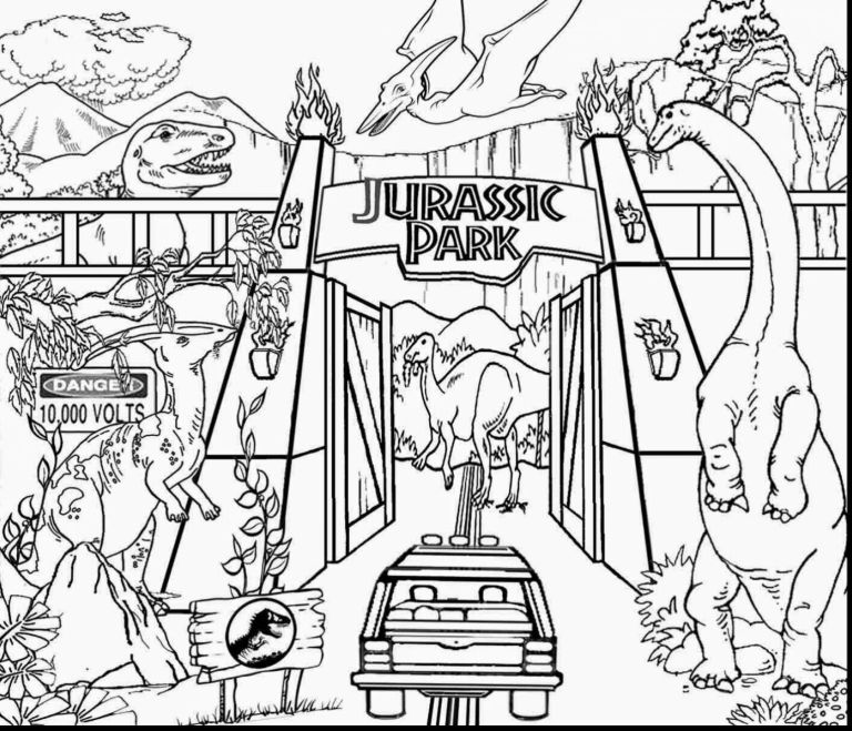 Jurassic Download To Print