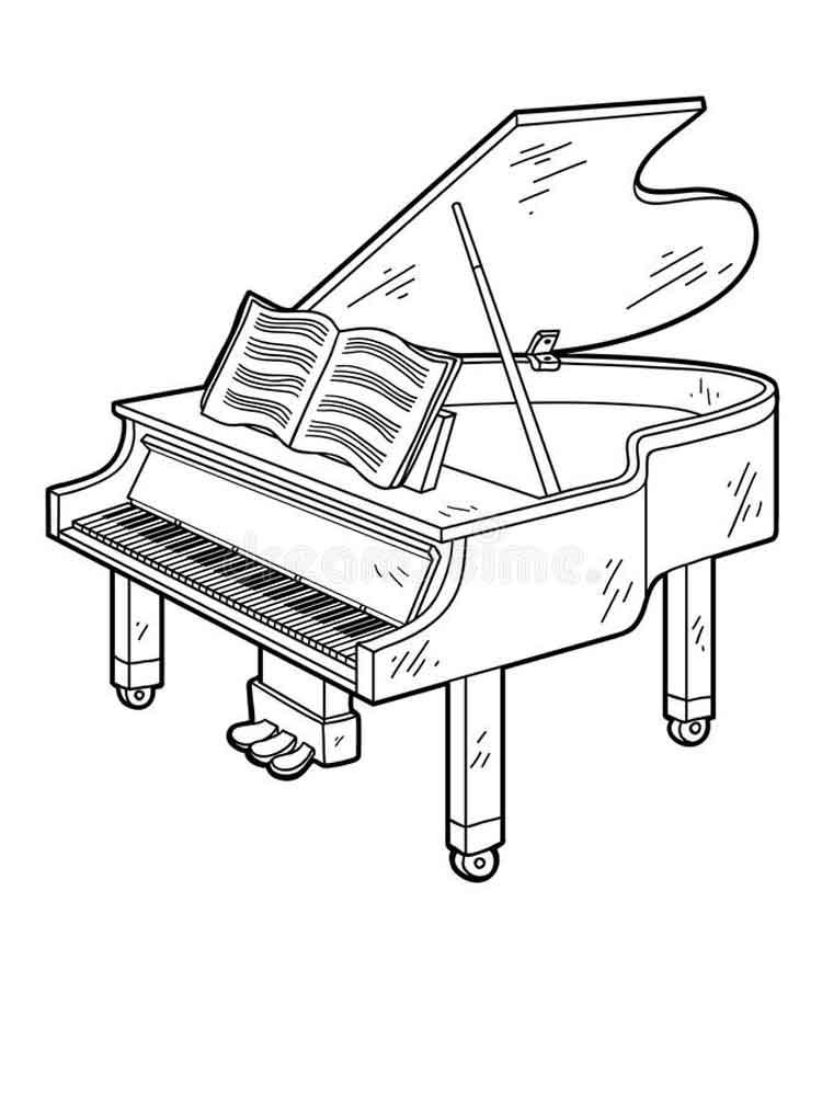 Piano Printable Online