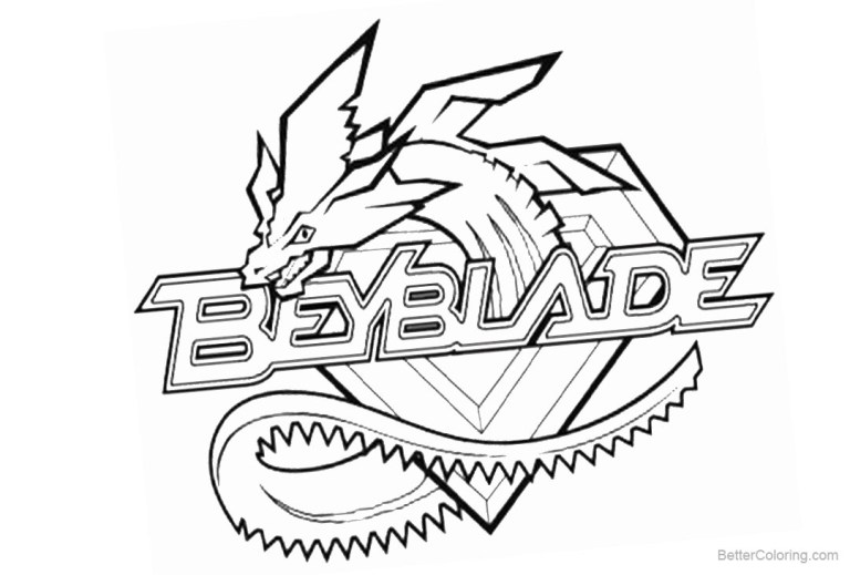 Beyblade Burst Turbo Coloring Pages