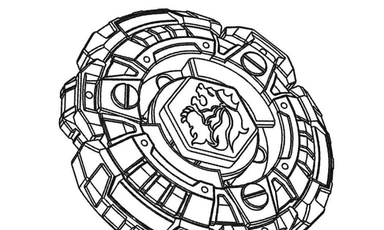 Beyblade Coloring Pages For Adult