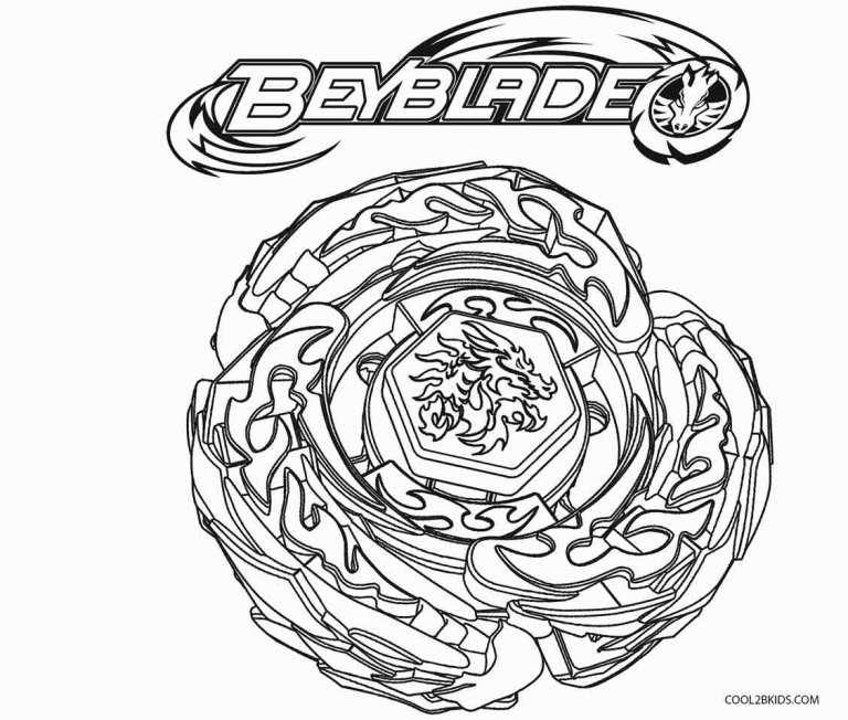 Beyblade Valtryek Coloring Pages