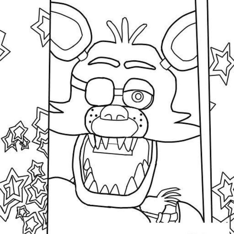 Chica Coloring Pages Fnaf