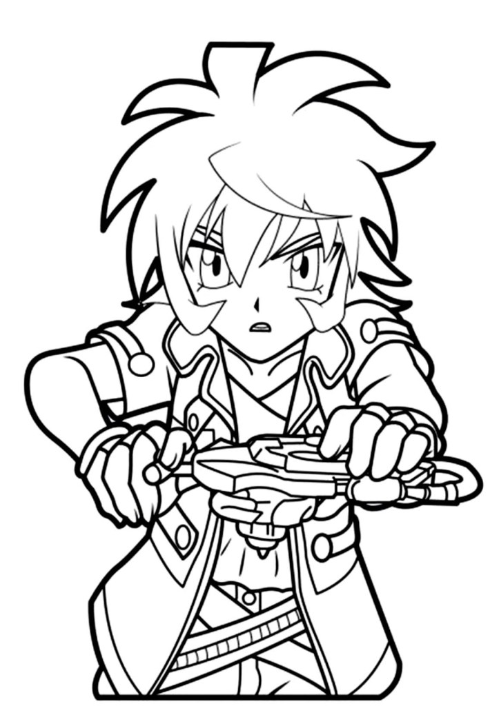 Coloring Pages Beyblade