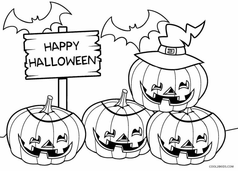 Free Printable Halloween Coloring Pages Disney