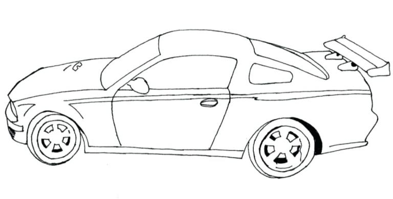 Car Coloring Pages Download