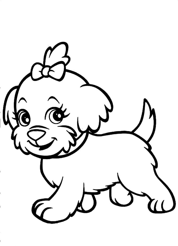 Dog Coloring Pages For Adult