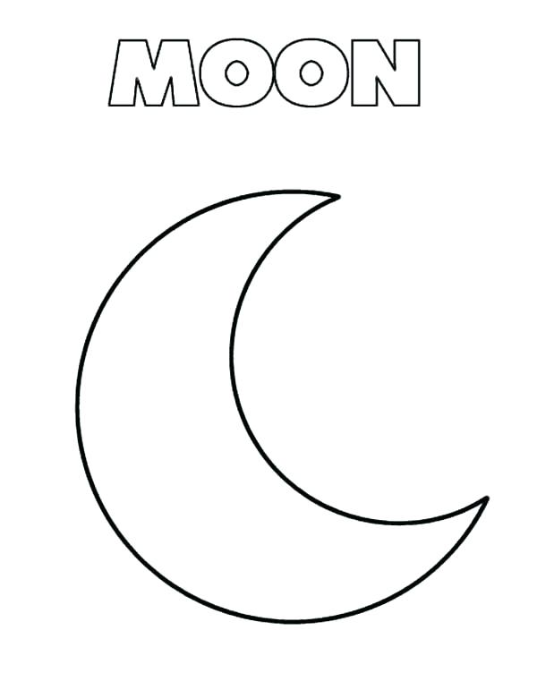 Wallpaper Moon Coloring Pages Printable