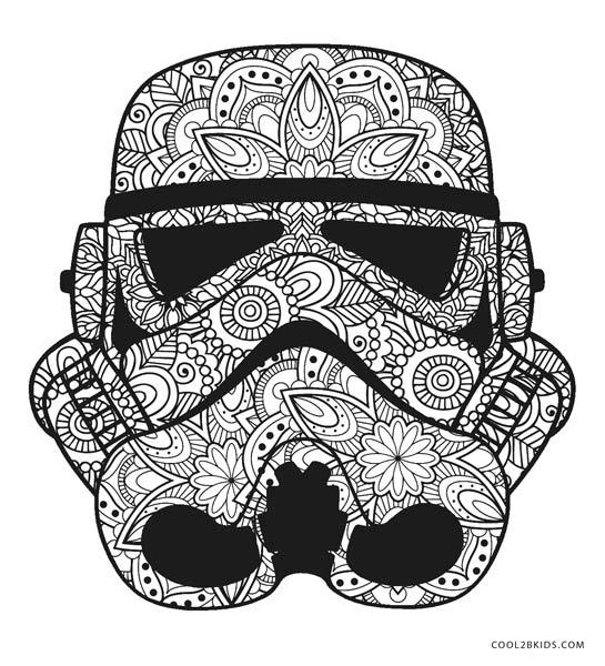 star wars mandala coloring pages