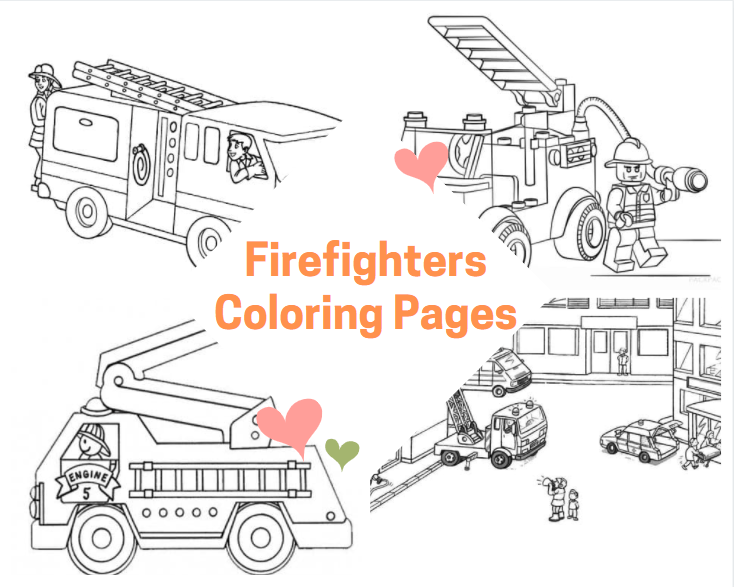 Firefighters Coloring Pages