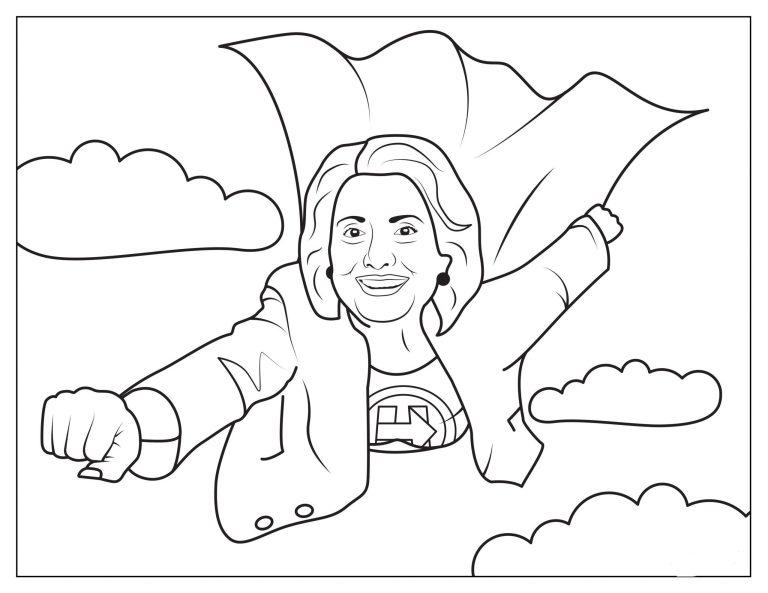 Hillary Clinton Printable