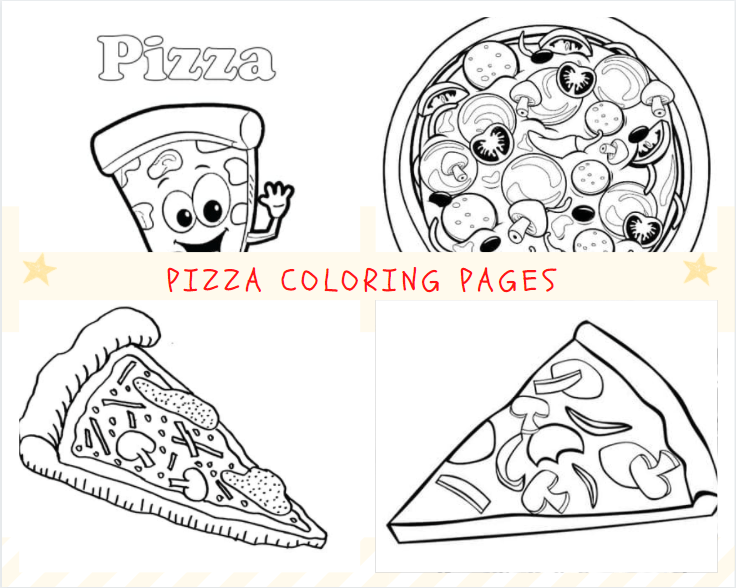 Pizza Pictures to Print