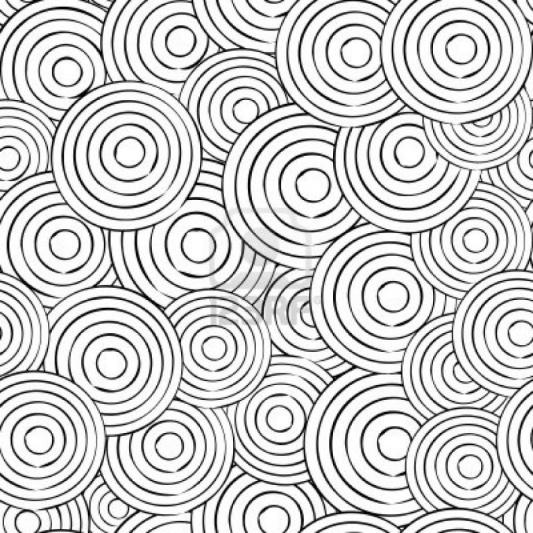 abstract coloring pages free large images to print