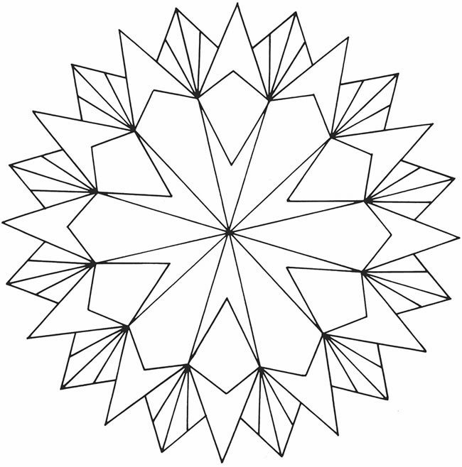 Adult Coloring Pages Geometric