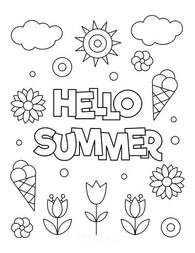 aesthetic coloring page