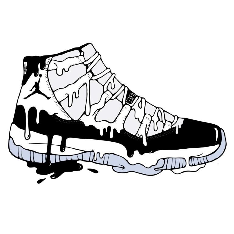 Air Jordan Coloring Pages