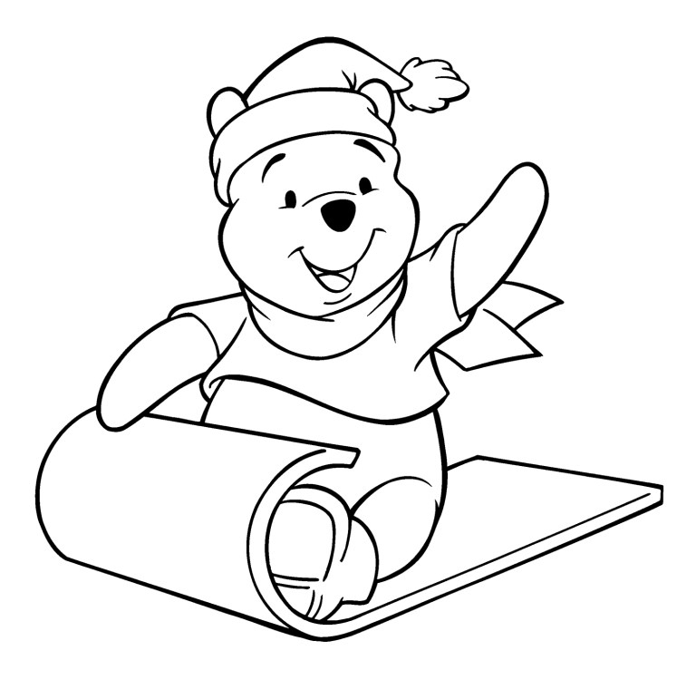 Baby Winnie The Pooh Tigger Coloring Pages