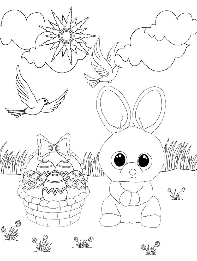 Beanie Boo Pictures To Color