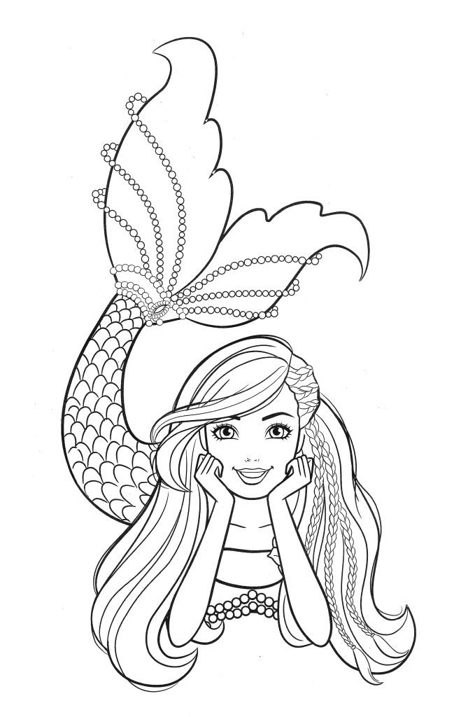 beautiful mermaid barbie image