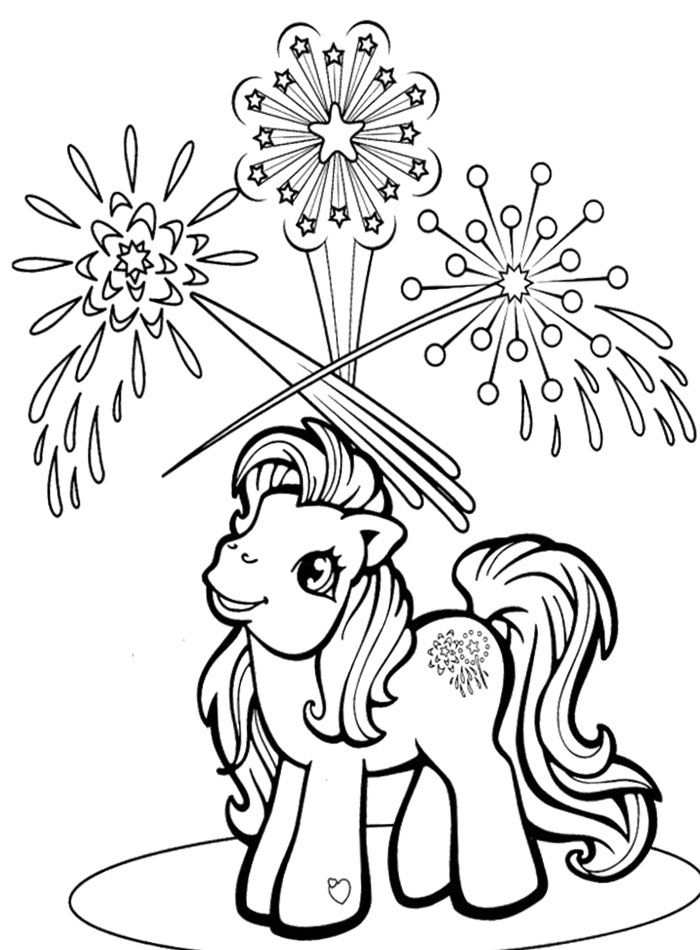 best Firework coloring pages for kids