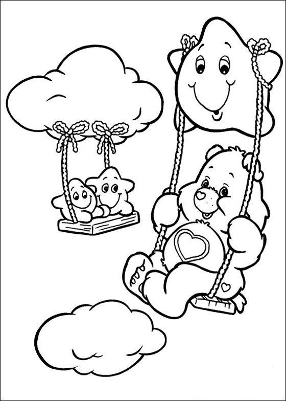 Care Bear Coloring Book