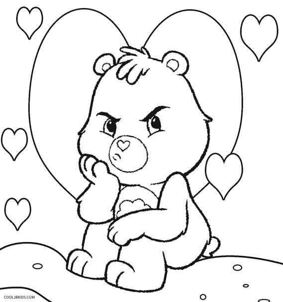 Care Bear Coloring Pages Online