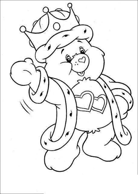 Care Bear Coloring Sheets