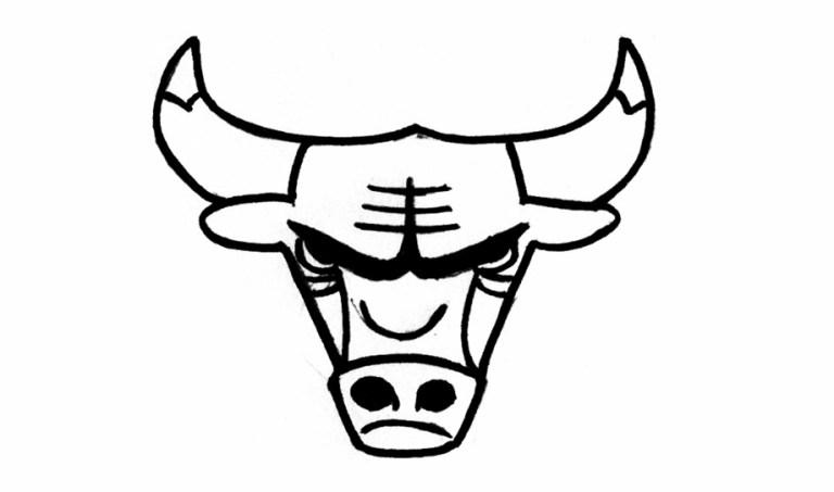 Chicago Bulls Coloring Sheet
