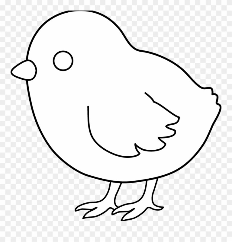 Chicks Coloring Pages