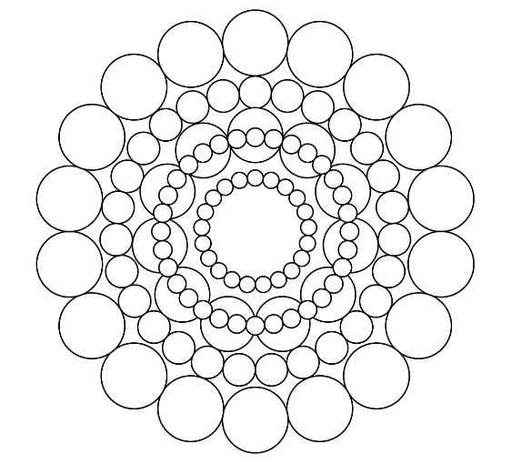 Circle Color Sheet