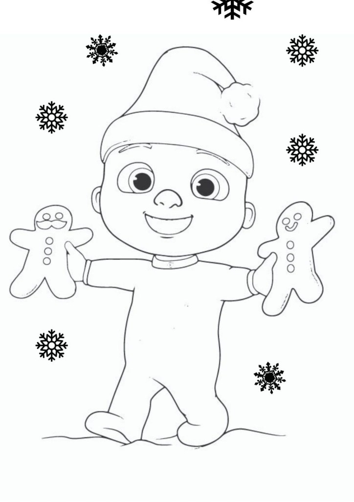 Cocomelon Coloring Pages For Kids