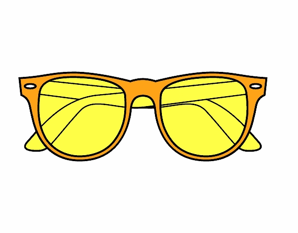 colored page sunglasses painted to fun