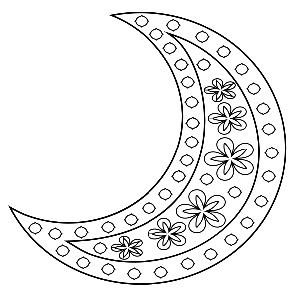 Coloring Moons