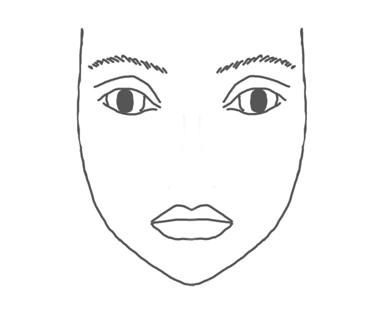 Coloring Page Of Faces