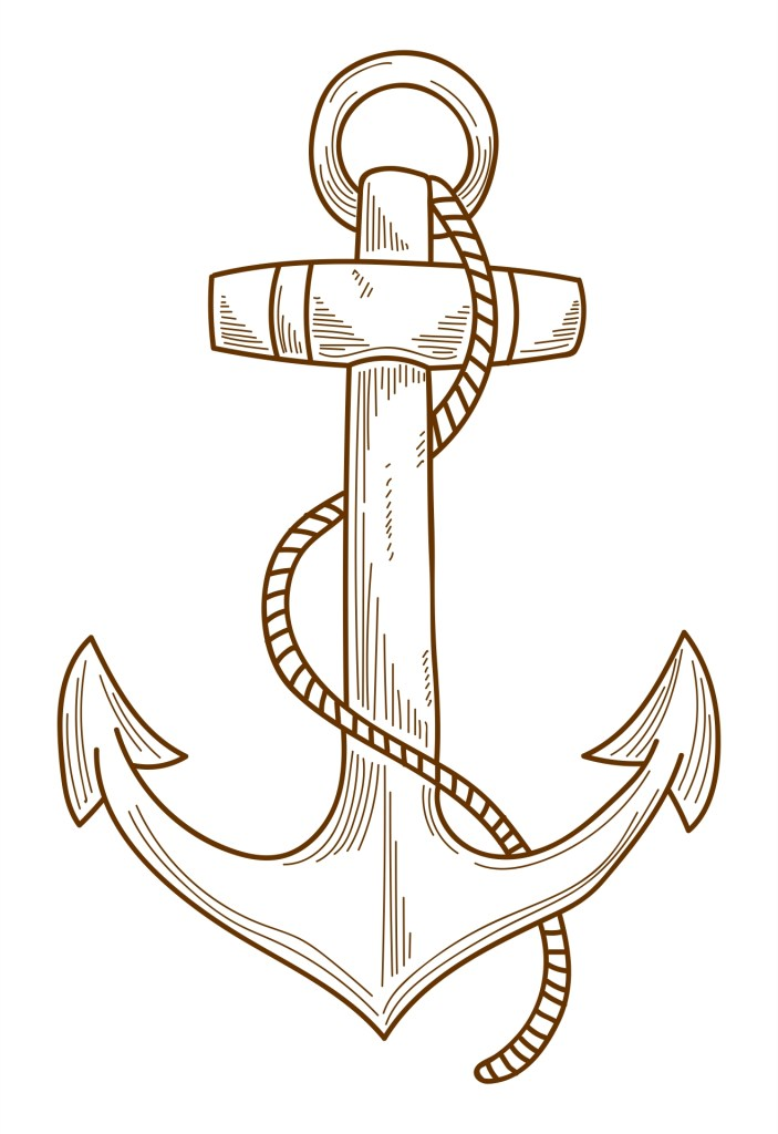 Coloring Pages Anchor