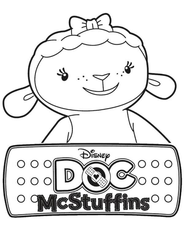 Coloring Pages Doc Mcstuffins