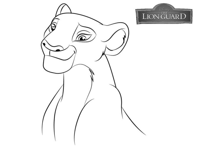 Coloring Pages Lion Guard