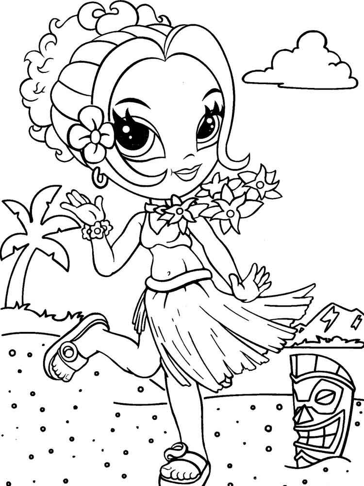 Coloring Pages Lisa Frank