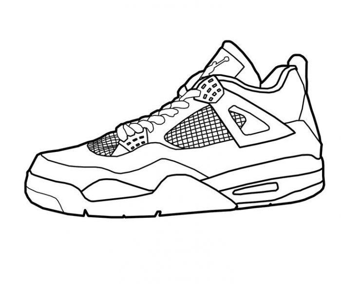 Coloring Pages Of Jordans