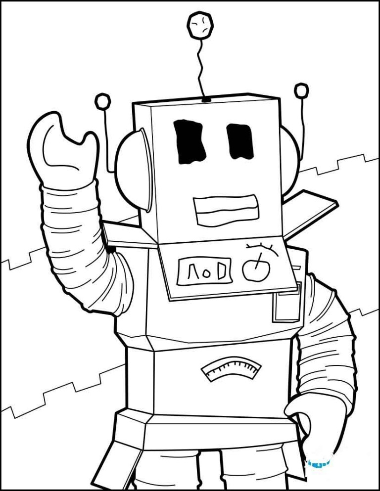 Coloring Pages Roblox