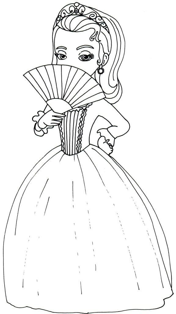 Coloring Pages Sofia