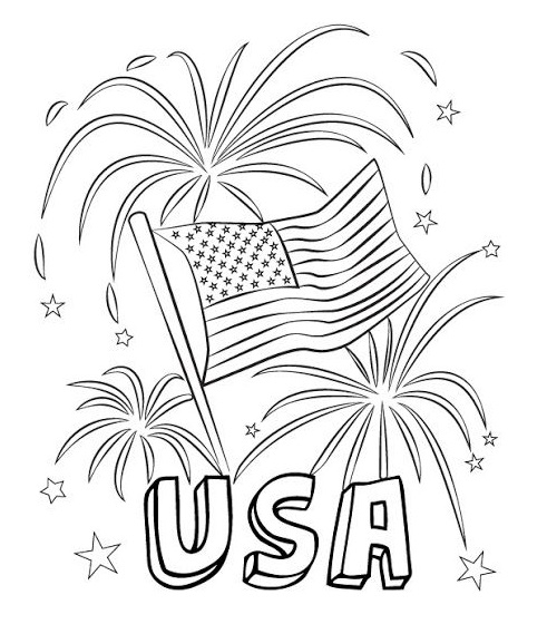 Coloring Pages Veterans Day
