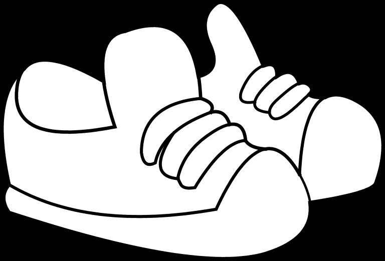 Converse Shoe Drawing