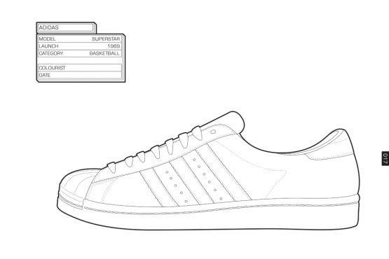 Converse Shoe Print