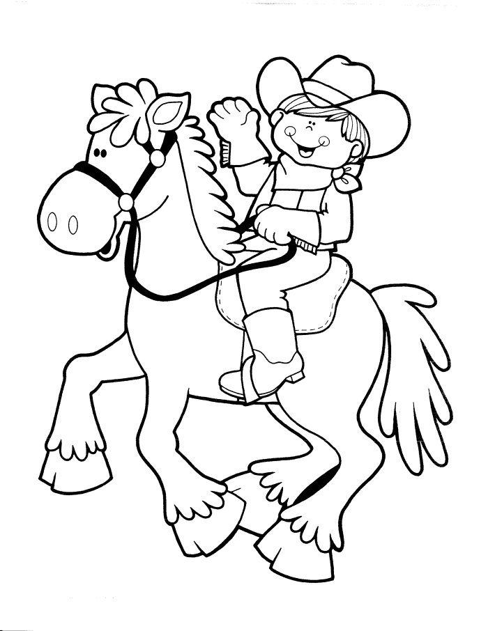 Cowboy to download and print for free