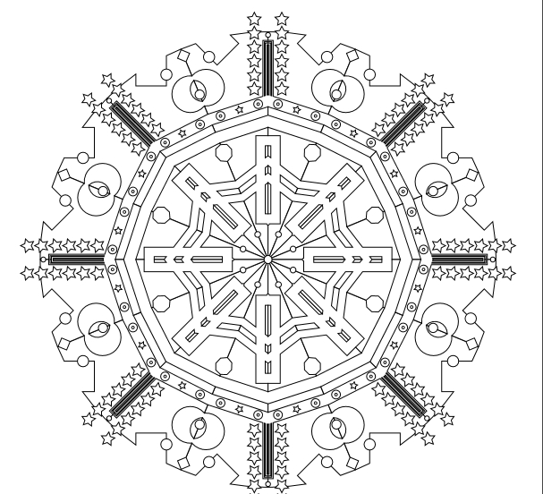 cute free printable geometric coloring pages for adults