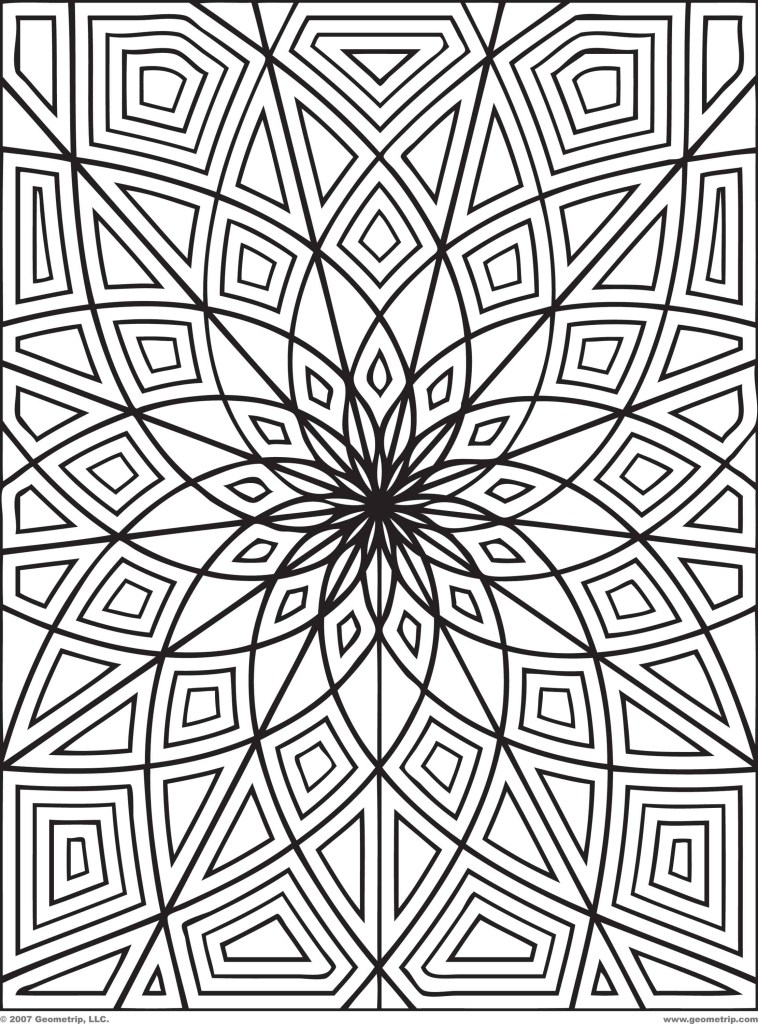 detailed hard coloring pages to downloads