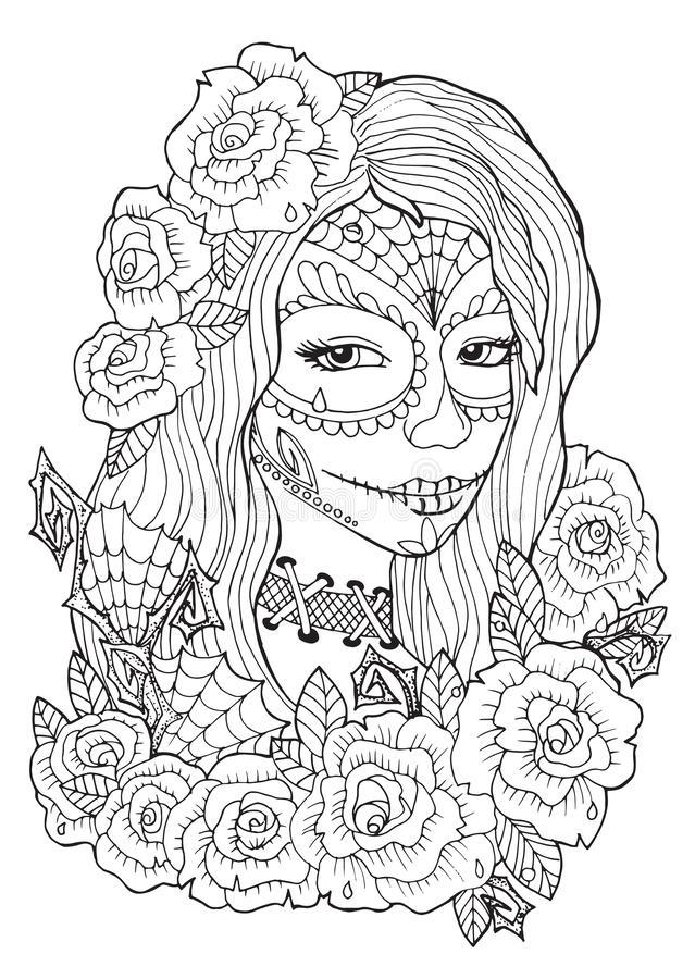 dia de los muertos illustrations